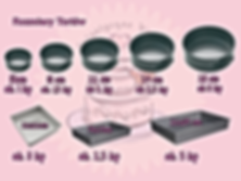 Artystyczne Wypieki rozmiary tortów