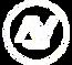 Logo tipo Branco Arthur e Vidal Marketing Digital