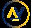 Logo Azul Arthur e Vidal Marketing Digital