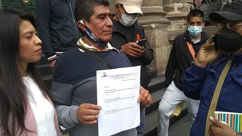 Comerciantes del Centro Histórico exigen ser considerados en la Ley de Ambulantaje