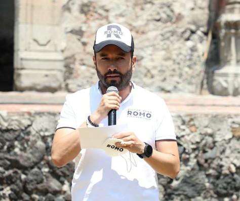 Asegura Romo convertir la alcaldía Miguel Hidalgo en la más segura