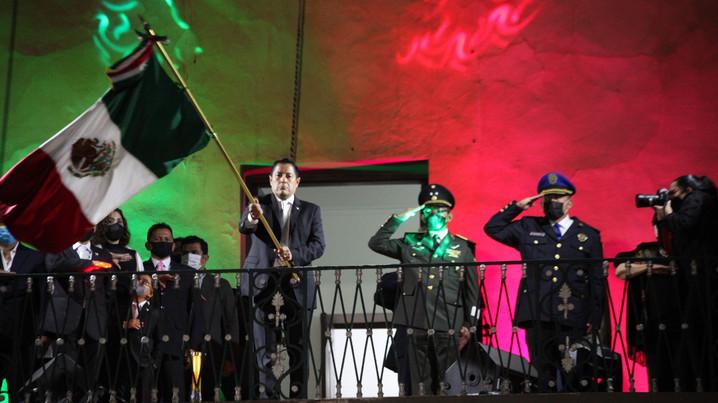 Unos 30 mil Cibernautas en el grito, en Miguel Hidalgo