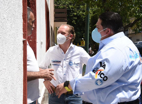 Taboada se compromete a continuar con resultados para Benito Juárez