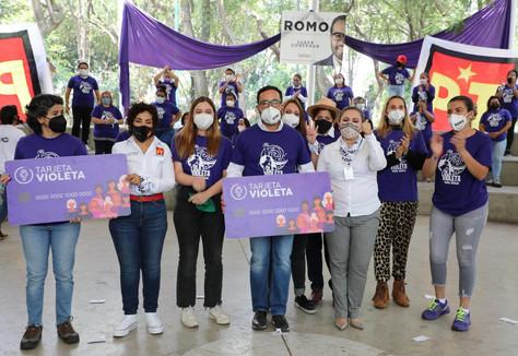 """Propone Romo """"Tarjeta Violeta"""" para mujeres de zonas vulnerables."""