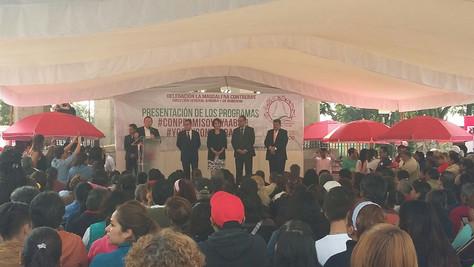 Regularizar a comerciantes en vía pública fortalece actividad económicaen Magdalena Contreras: Fern