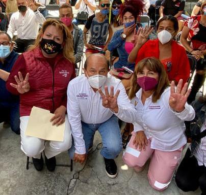 Quintero aventaja encuestas para alcalde de Iztacalco