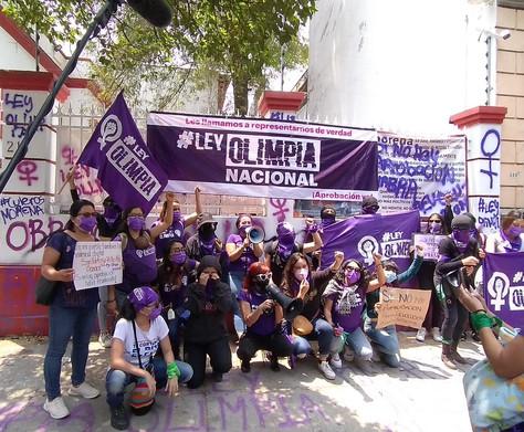 """Frente Nacional para la Sororidad Defensoras Digitales exigen sea aprobada la """"Ley Olimpia Nacional"""""""