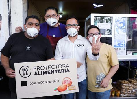 Romo propone subsidiar alimento a familias de escasos recursos