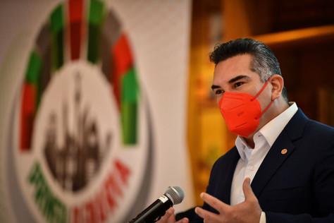 Alejandro Moreno destacó que en la capital, el PRI abanderará la voz de la población inconforme