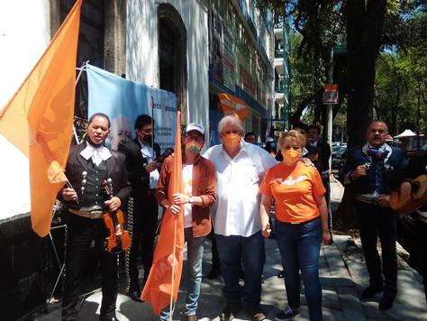 Candidatos del MC realizan recorridos por la CDMX para conformar alianza con ciudadanos