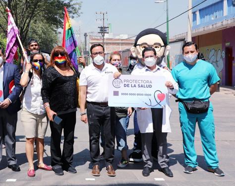"""Anuncia Romo programa """"La Protectora"""" para habitantes sin servicios médicos"""