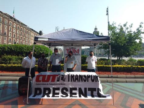 Taxistas Unidos por México convocan a realizar cierres en distintos puntos de la Ciudad.