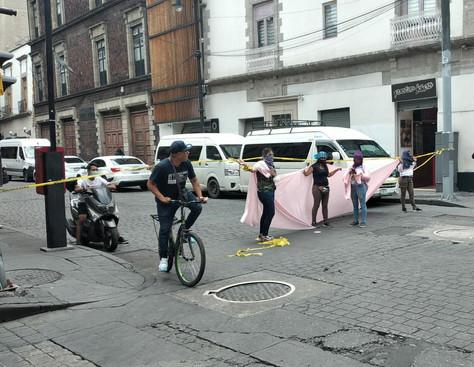 Feministas se manifestaron en rechazo a la ratificación  de Nashieli Ramírez Hernández.