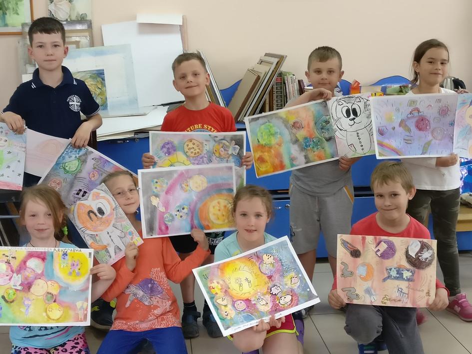 Все наши дети очень творческие личности