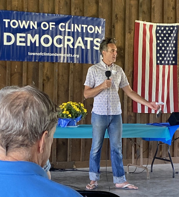 Sam Moyer, Chair, Town of Clinton Democrats
