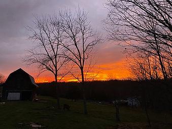 Clinton Sunset
