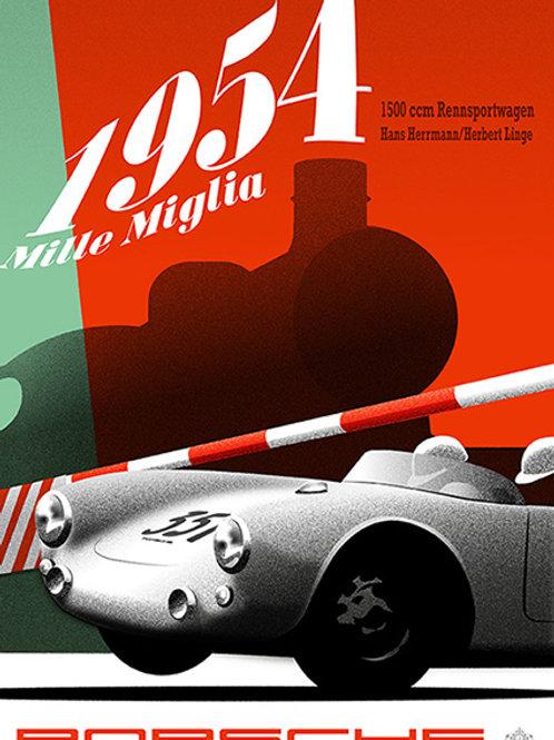 1954 Mille Miglia 550 PRINT