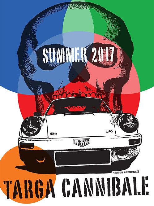 Targa Cannibale Event Poster 2017