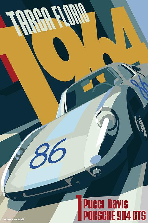 Porsche 904 Targa Florio 1964 PRINT