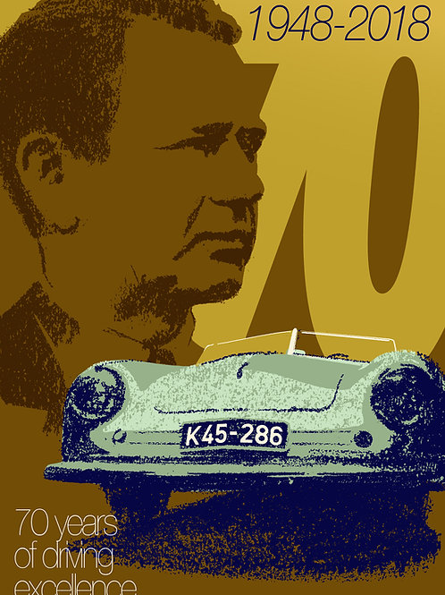 70 years of driving excellence PRINT