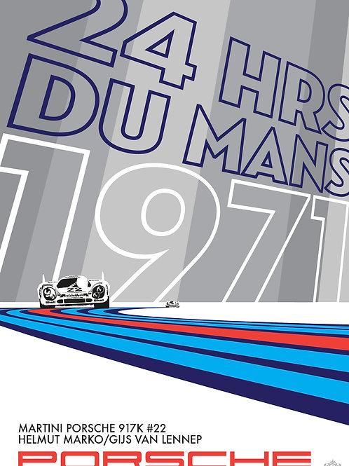 1971 Le Mans Martini Porsche 917