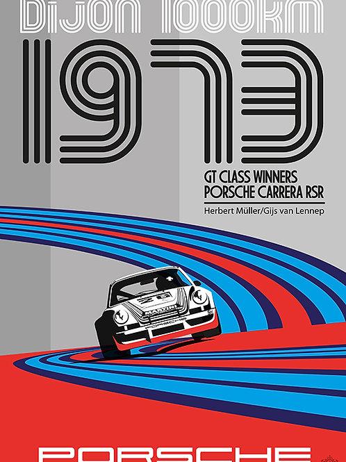 1973 Dijon 1000km RSR PRINT