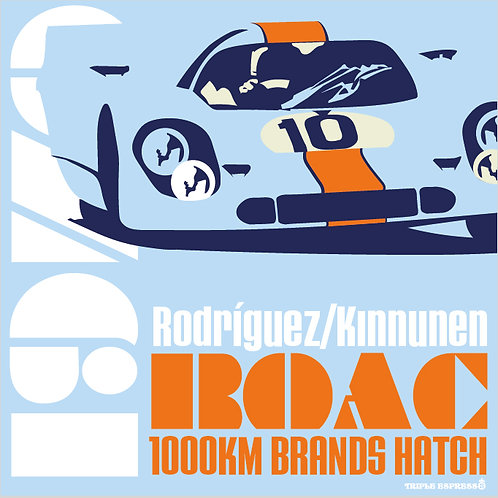 1970 BOAC 1000KM Rodriguez