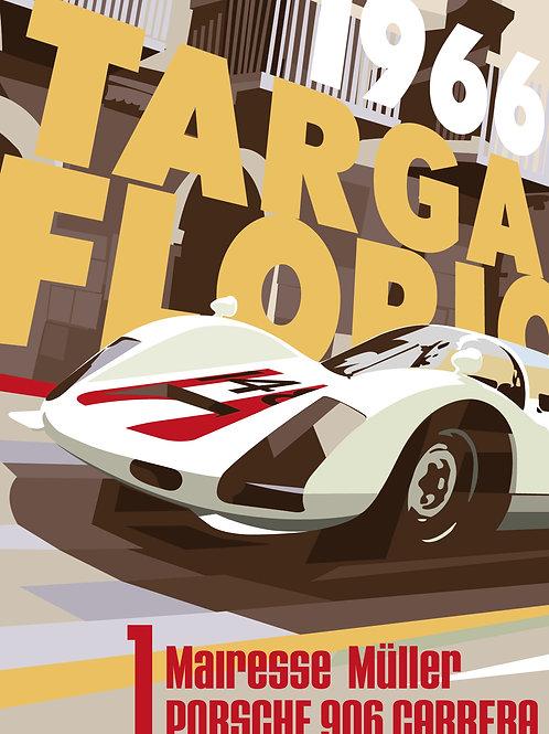 copy of Porsche 906 Targa Florio 1966 PRINT