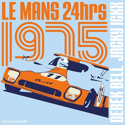 Gulf Mirage GR8 Le Mans 1975