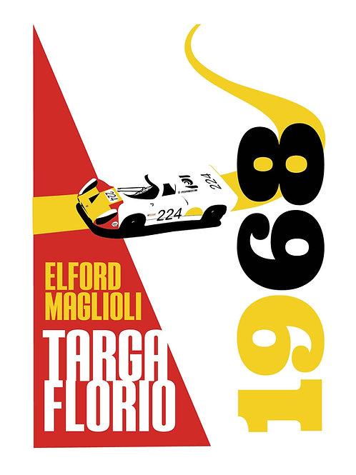 1968 Vic Elford Tribute Targa Florio