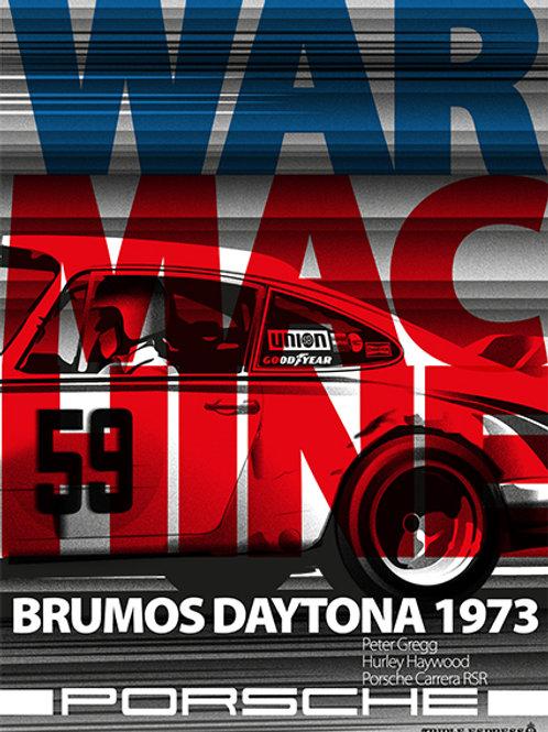 Daytona 24hrs 1973 Porsche Carrera RSR