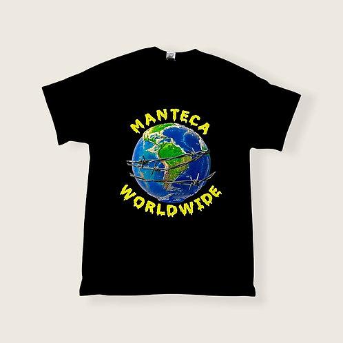 MANTECA 'WORLDWIDE' T-SHIRT