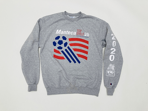 MANTECA X TOP SHELF PREMIUM '94 FIFA WORLD CUP' CREW NECK SWEATSHIRT