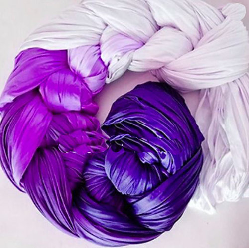 Tricot Aerial Silk Ombre Colours