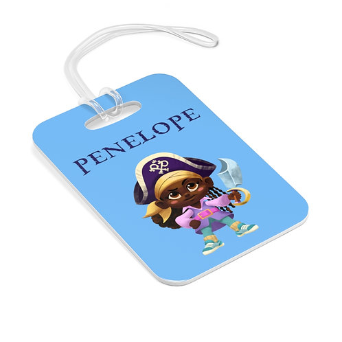 Penelope Pirate Backpack Tag