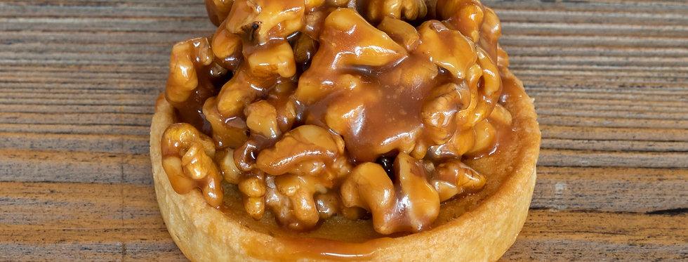 Walnut & Caramel Tart