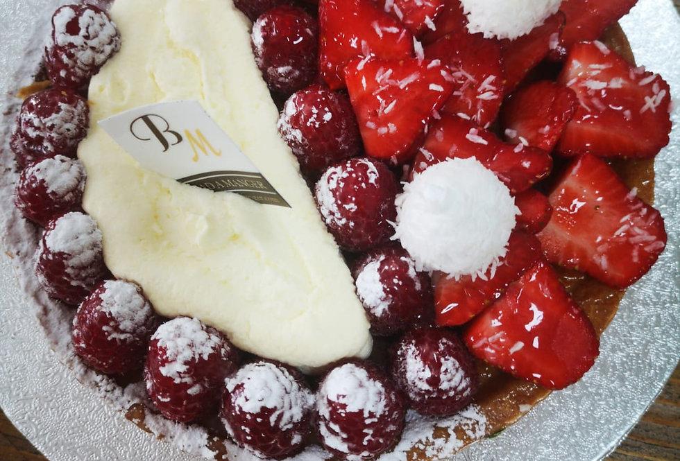 Creamy Fruits Tart