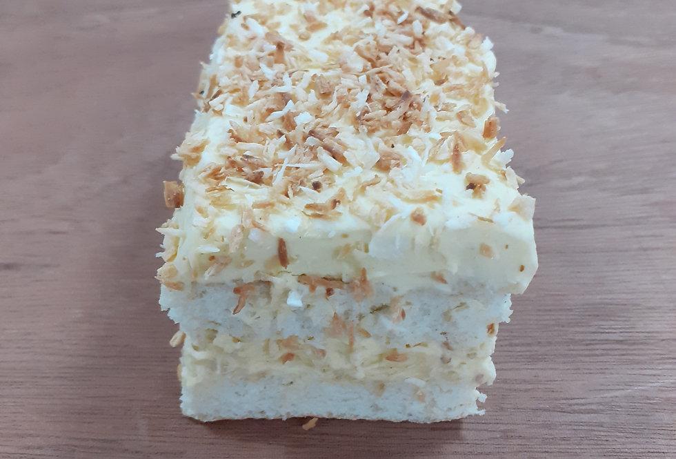 Coconuts Sponge Cake Slice