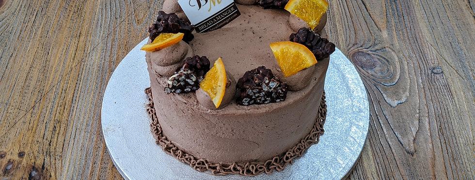 Choco Orange Sponge Cake