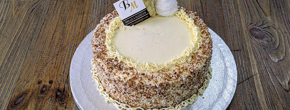 White Coconut Sponge Cake