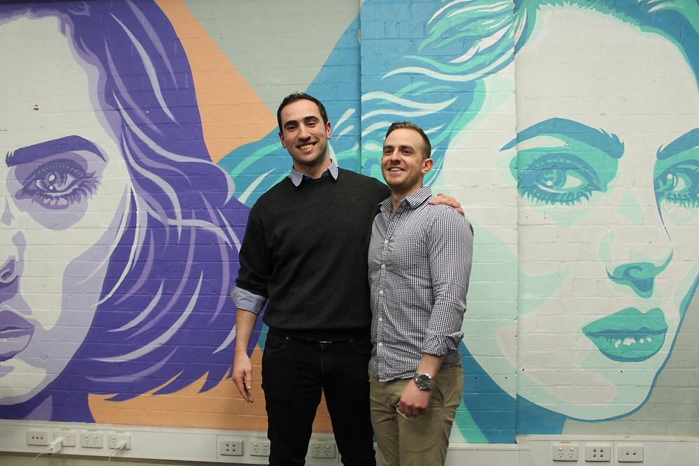Voice of Health Founders - James Hatchman & Luke Karabatsos