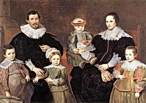 the-family-of-the-artist Cornelis de Vos