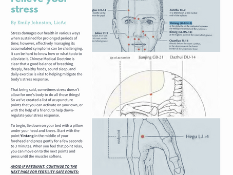 ACUPRESSURE FOR STRESS