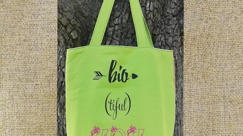 "Tote bag ""Bio (tiful) Mom"""