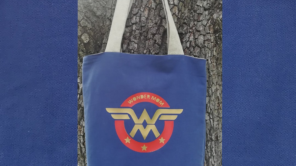 Tote bag wonder mom