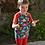 Thumbnail: t-shirt dinosaures en coton jersey bio