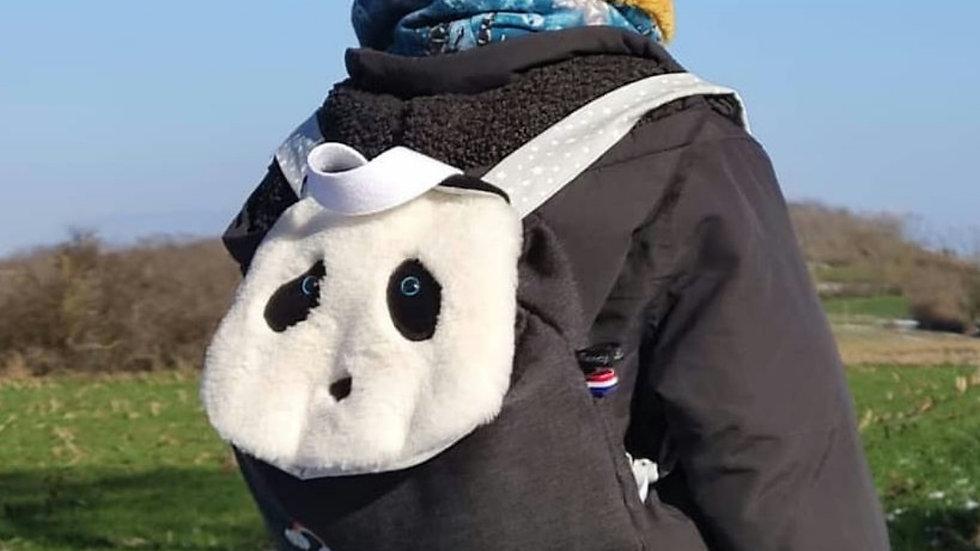Sac à dos enfant panda personnalisable
