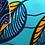 Thumbnail: Paco feuilles et fleurs d'hibiscus
