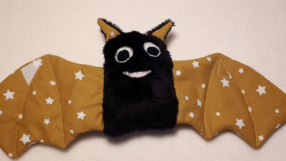 Doudou chauve souris cache cache étoiles