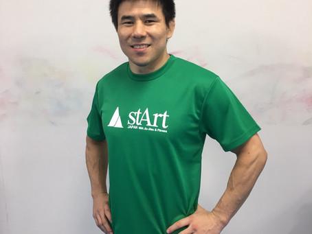 ニュー stArt Tーシャツ販売中!